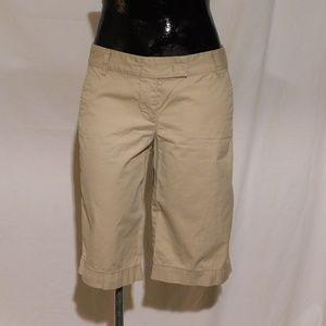 """J. Crew Khaki Chino Shorts 30"""" Waist"""